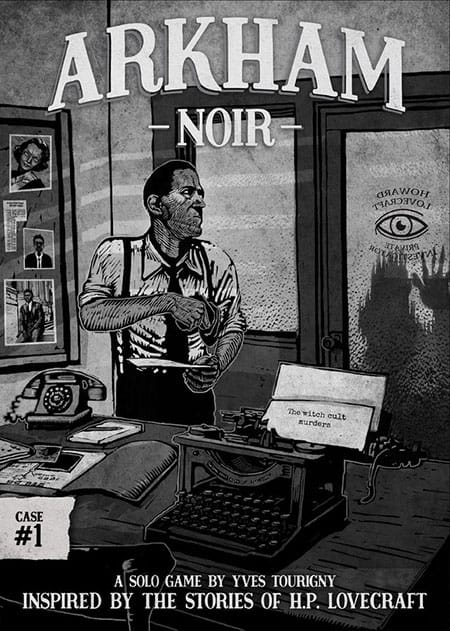 Arkham Noir - Cover
