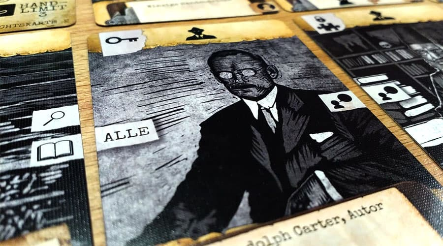 Arkham Noir - Karten kombinieren