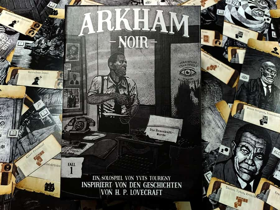 Arkham Noir - Illustrationen