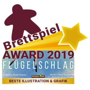 Brettspiel Award 2019 - Beste Illustration & Grafik