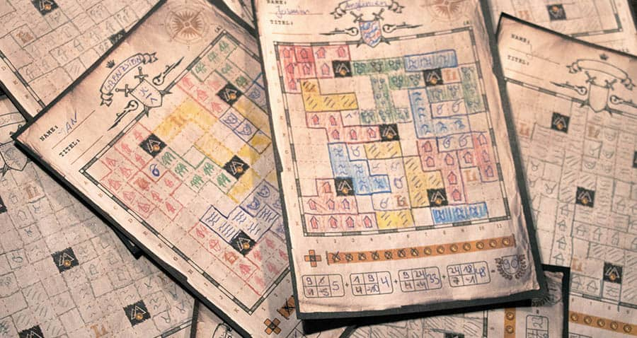 Der Kartograph: Landkarten