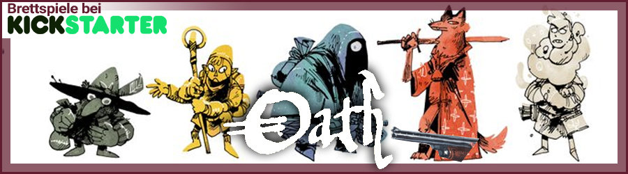 Brettspiele bei Kickstarter: Oath - Chronicles of Empire and Exile