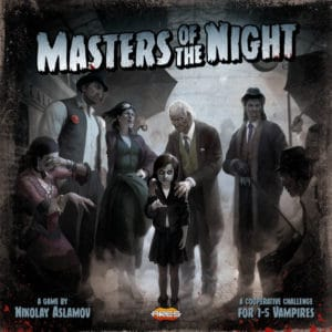 Masters of the Night Brettspiel Cover