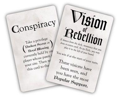 Brettspiele bei Kickstarter: Oath - Vision Card