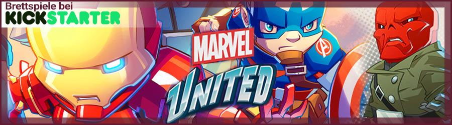 Brettspiele bei Kickstarter - Marvel United