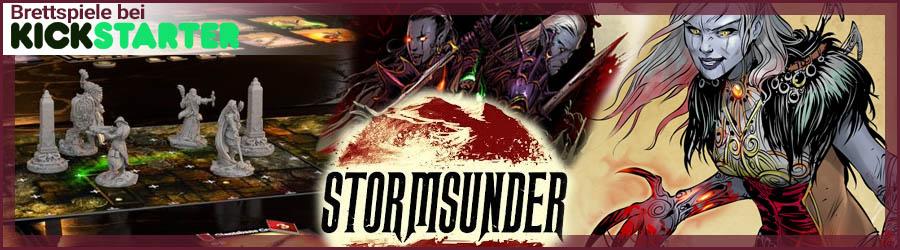 Brettspiele bei Kickstarter: Stormsunder