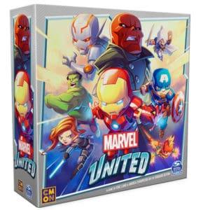 Brettspiele bei Kickstarter - Marvel United Cover
