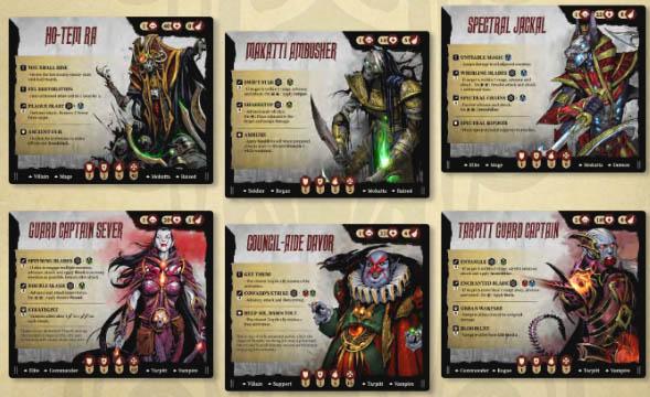 Brettspiele bei Kickstarter: Stormsunder - Gegner