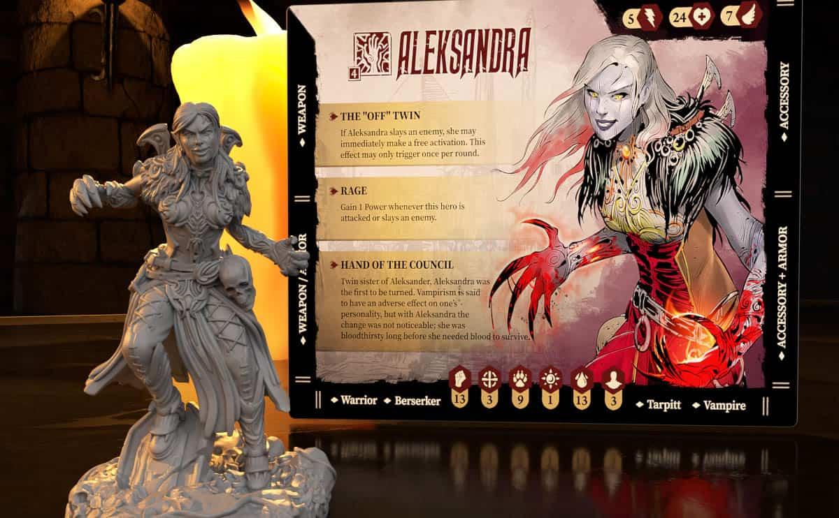 Brettspiele bei Kickstarter: Stormsunder - Miniaturen