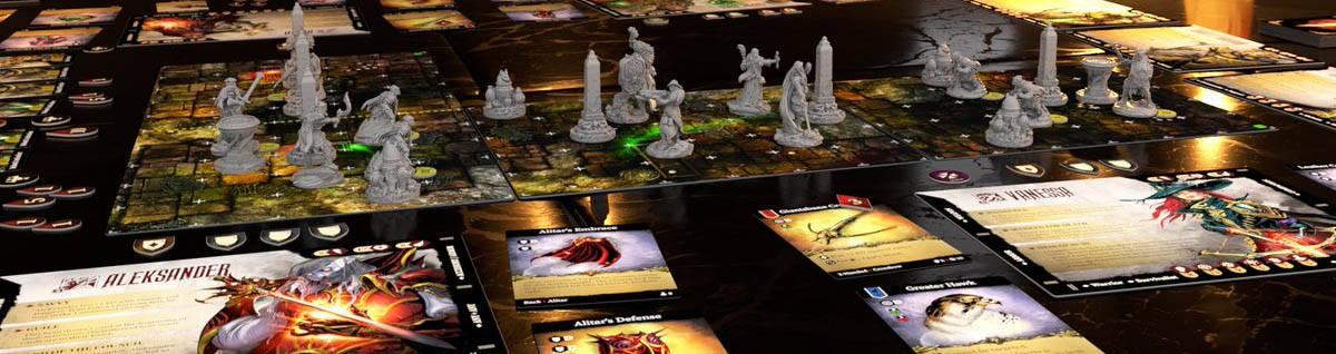 Brettspiele bei Kickstarter: Stormsunder - Spielaufbau
