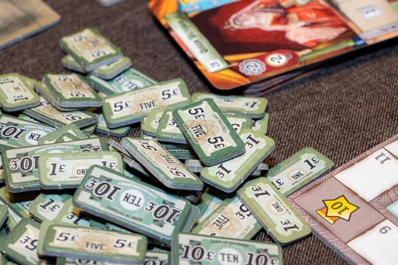 Crystal Palace Brettspiel Geld