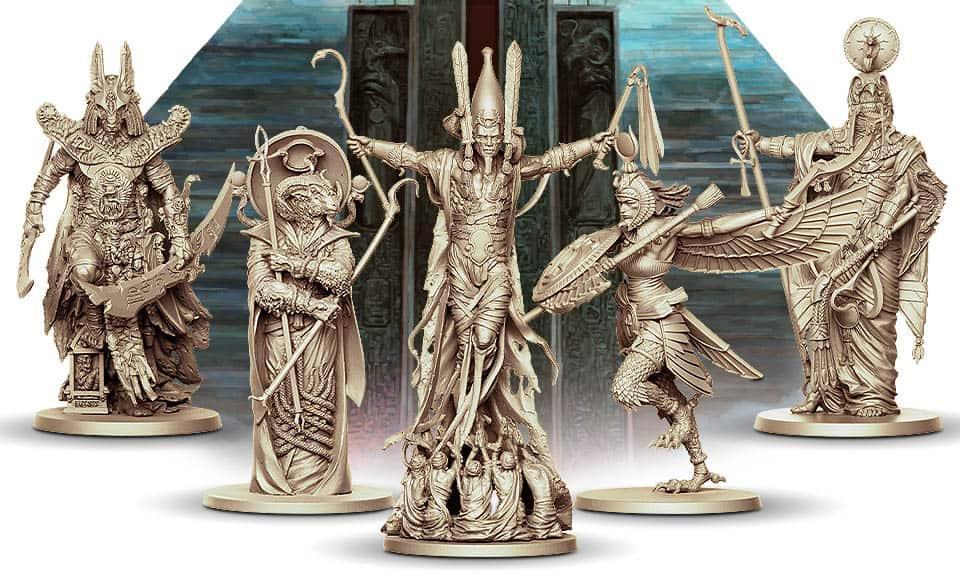 Ankh: Gods of Egypt Core Box Götter