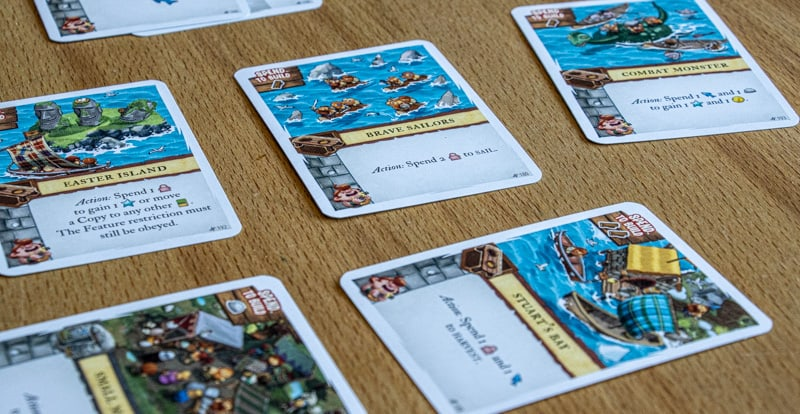 Imperial Settlers Empires of the North Brettspiel Aufbau