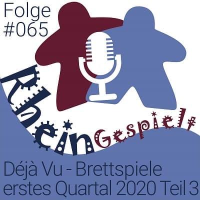 Brettspiel Podcast RheinGespielt Folge 65