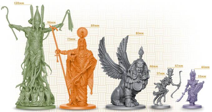Ankh: Gods of Egypt Miniaturen