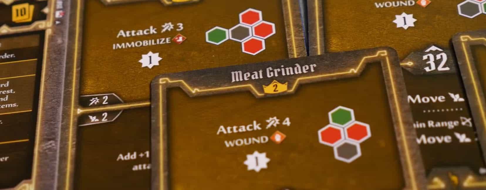 Frosthaven Aktionskarten