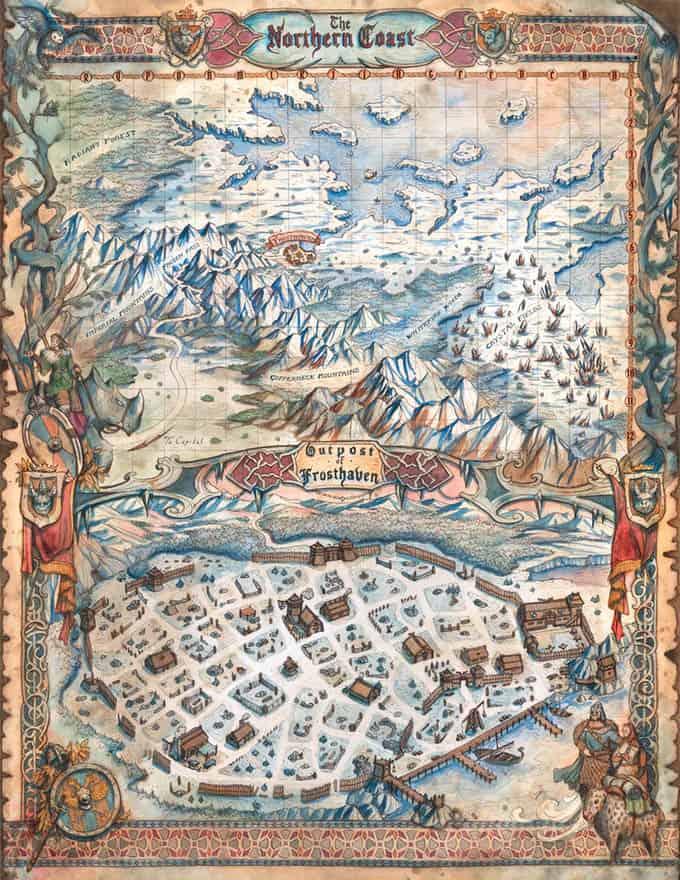 Frosthaven Karte