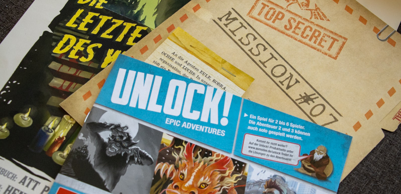 Unlock!: Epic Adventures Anleitung