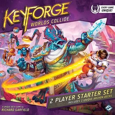 Keyforge Kollidierende Welten Cover