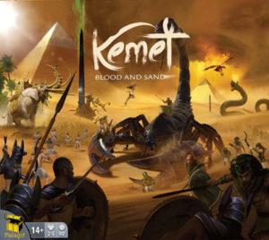 Kemet: Blood and Sand bei Kickstarter