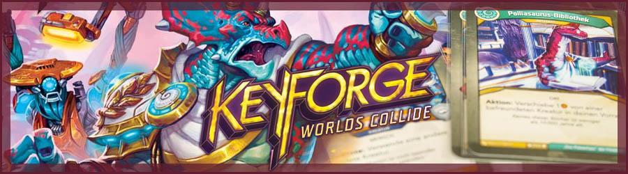 Keyforge - Kollidierende Welten Review