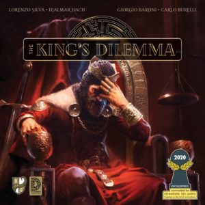 The King's Dilemma Cover - Nominiert zum Kennerspiel des Jahres 2020