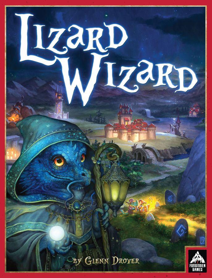 Lizard Wizard Brettspiel Cover