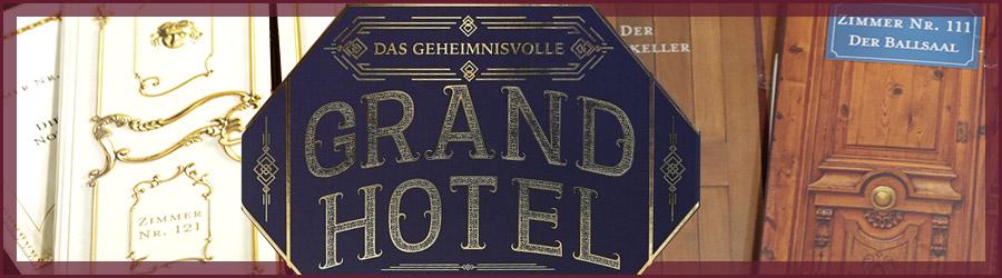Das geheimnisvolle Grand Hotel - Rezension