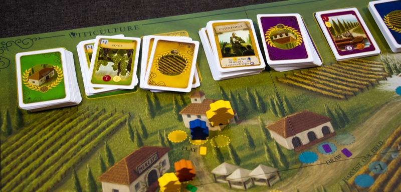Viticulture Brettspiel Karten