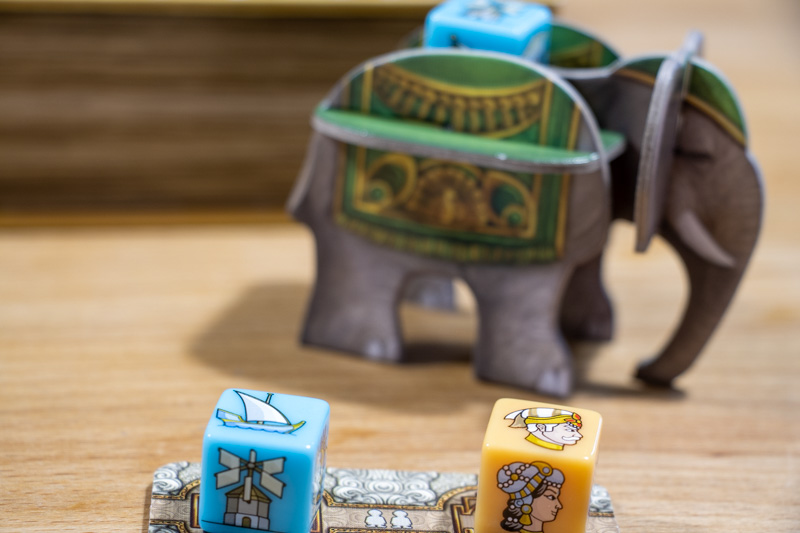 Rajas of the Ganges - The Dice Charmers Startspieler