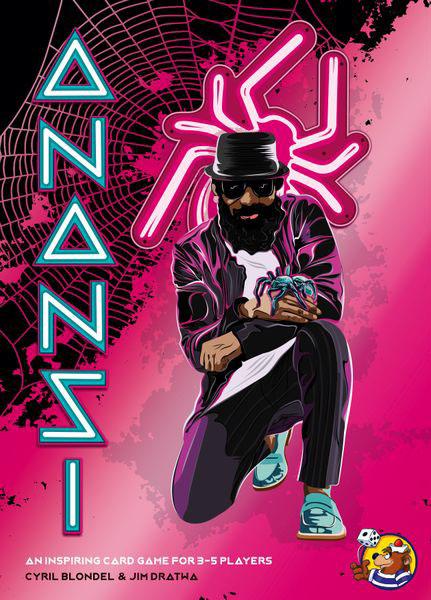 Anansi - Brettspiel Cover