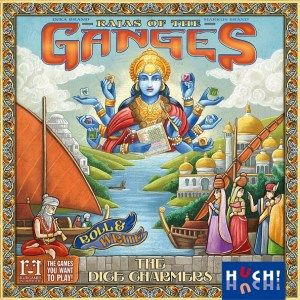 Rajas of the Ganges - The Dice Charmers Cover