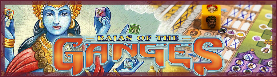 Rajas of the Ganges - The Dice Charmers Review