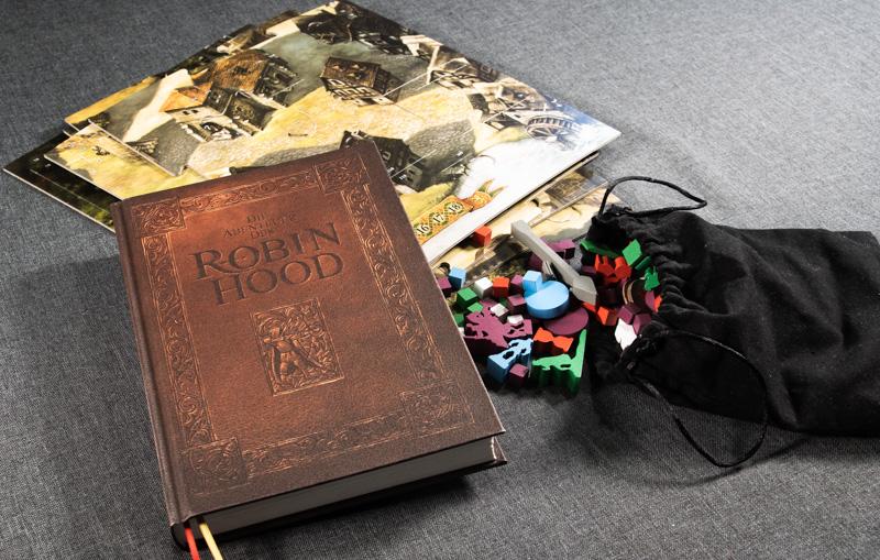 Die Abenteuer des Robin Hood Spielmaterial