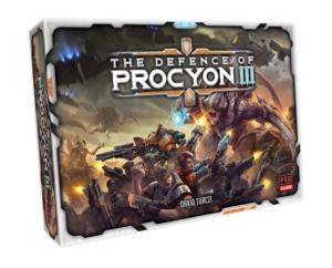 Die Verteidigung von Procyon III Brettspiel Cover