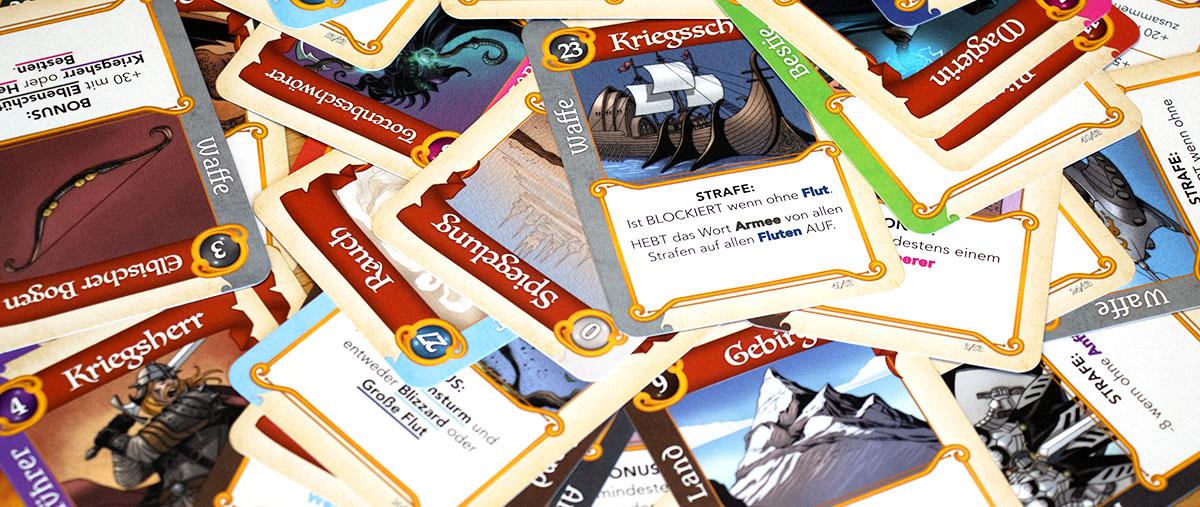 Fantastische Reiche - 53 Karten